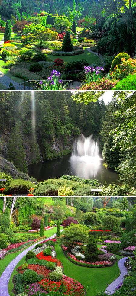 nejkrásnější zahrada Kanada