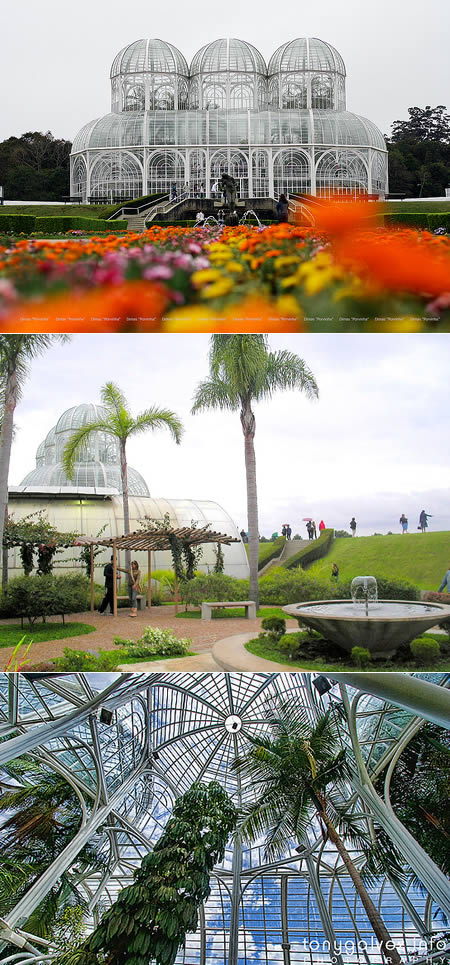 nejkrásnější zahrada Brazílie