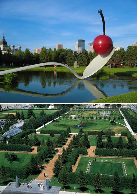 nejkrásnější zahrada Minesota