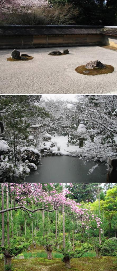zahrada Ryōan-ji – Japonsko