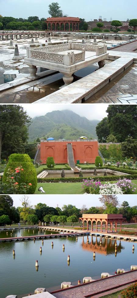 nejkrásnější zahrada Pákistán