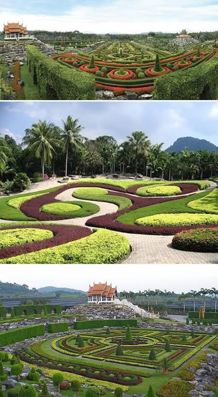 nejkrásnější zahrada Thajsko