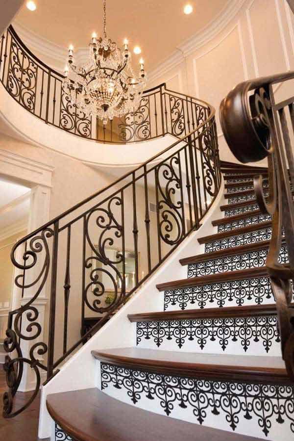 Diy 11 tip jak vytvo it designov schodi t for Decorar escaleras con fotos