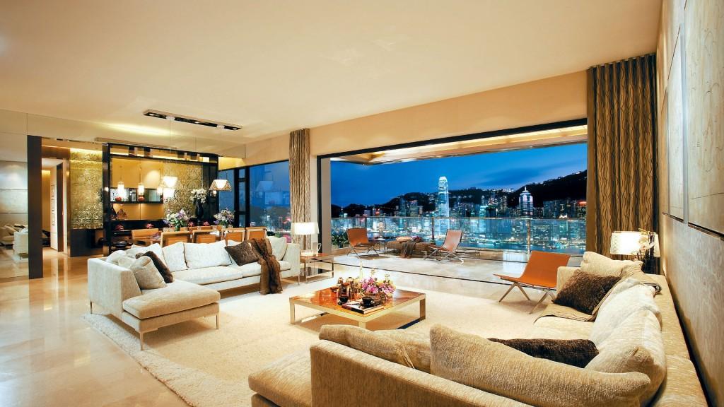 Luxusní bydlení: zařizujeme obývací pokoj