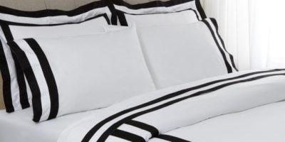Černá a bílá v ložnici: dokonalý kontrast pro okouzlující vzhled