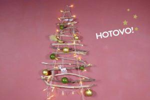 DIY: tipy na zajímavé a nevšední vánoční stromečky