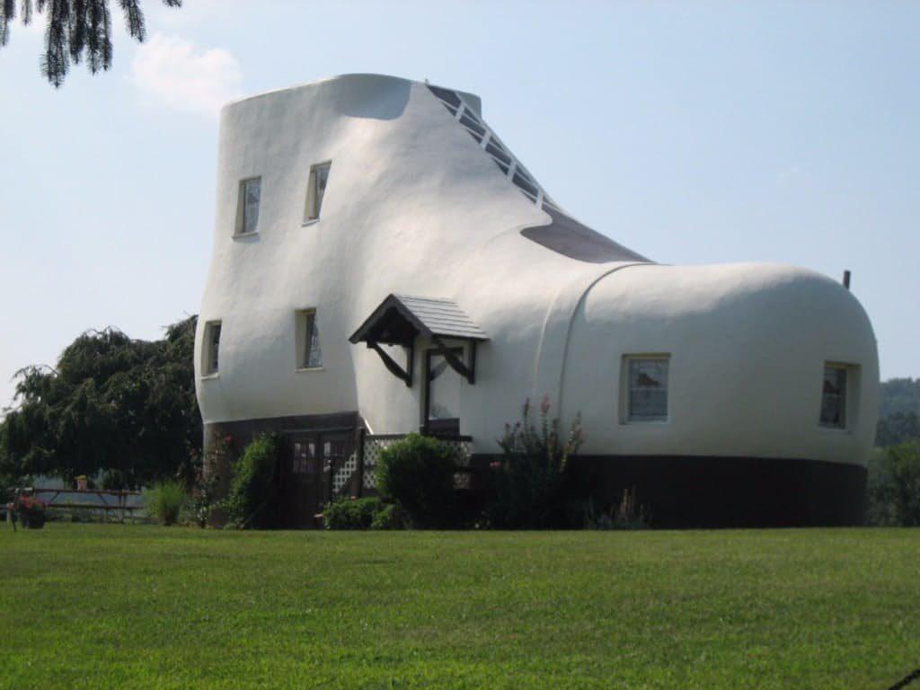 dům ve tvaru boty