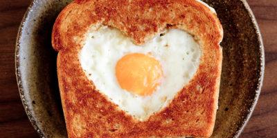 Valentýnská snídaně s láskou