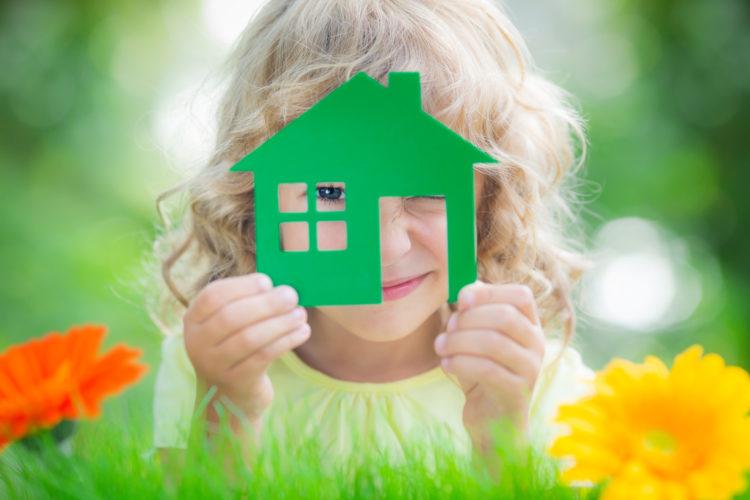 dům, dítě
