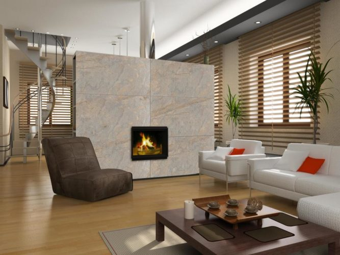 Kámen v interiéru: zajímavé tipy