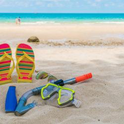 dovolená, pláž