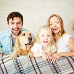 rodina se psem