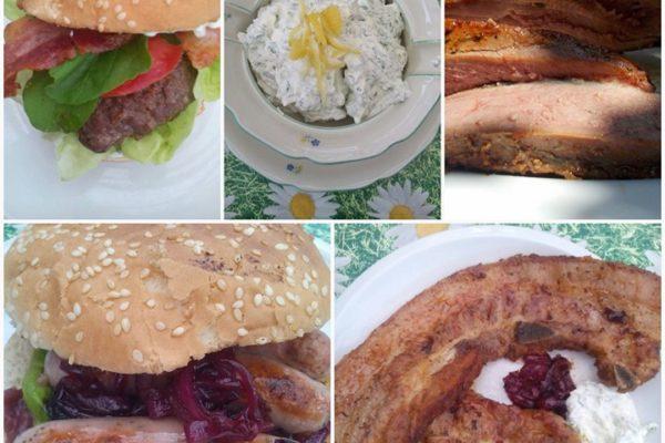Barbecue po česku: grilujeme klobásky, burger i kachní prsa