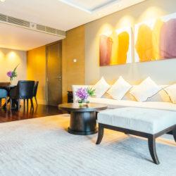 obývák, koberec