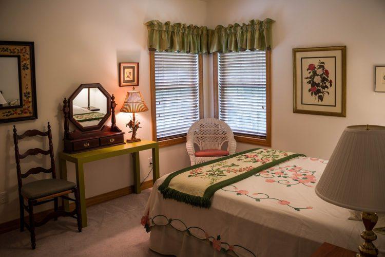 ložnice, boudoir, budoár