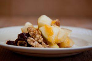 Jablka, ořechy, med: proti podzimnímu nachlazení