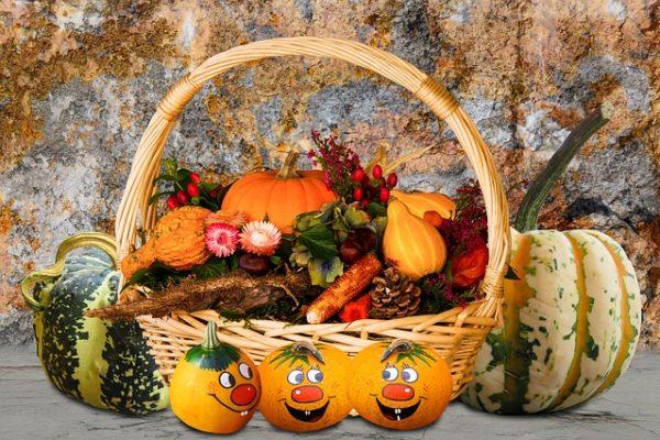 Podzimní dekorace: barevný podzimní balkón