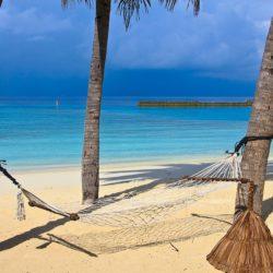 dovolená, pláž, moře