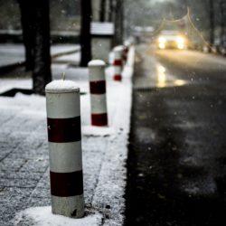 sníh, chodník