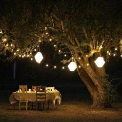 Zahradní osvětlení vytvoří letní večery plné pohody!