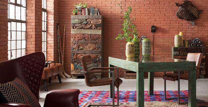 kožený nábytek