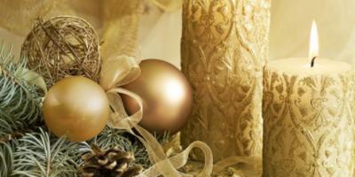 Vánoce 2018: Letos zapomeňte na stříbrnou! Trendy jsou už dané! Lidová tvořivost a luxusní elegance bude hrát prim!
